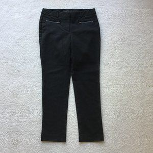 KENNETH COLE SIZE 2 BLACK SKINNY TROUSERS